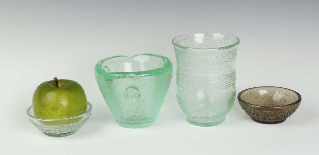 CIRCA 1930s ART GLASS BY DAUM, NANCY - 4