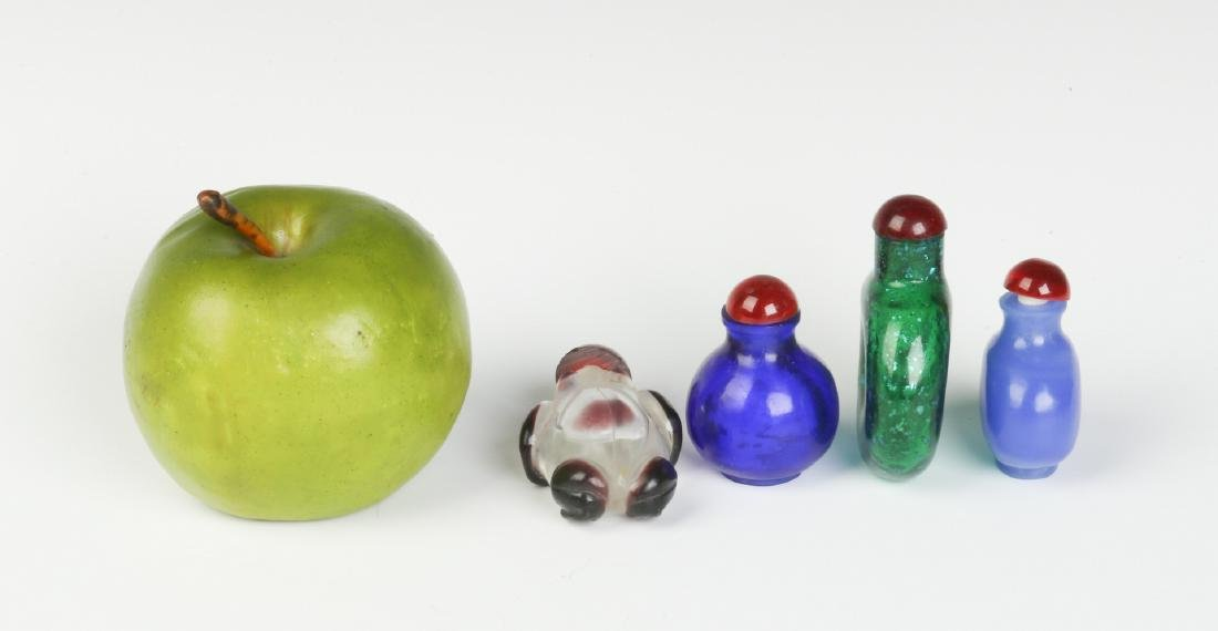 20TH CENTURY PEKING GLASS AND OTHER SNUFF BOTTLES - 8