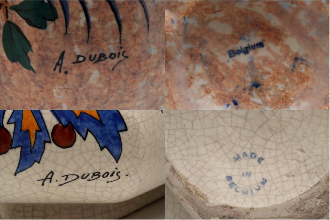 TWO BELGIAN ART DECO VASES SIGNED A. DUBOIS - 10