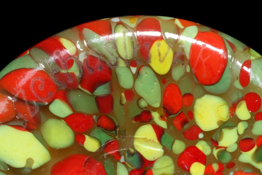 TWO ART GLASS VASES SIGNED CZECHOSLOVAKIA - 11