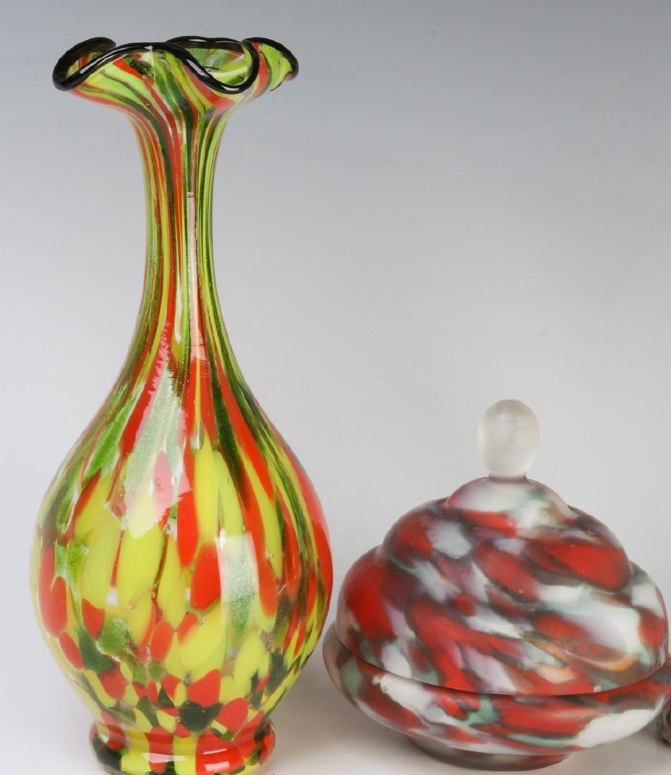 A COLLECTION OF CZECHOSLOVAKIAN ART GLASS - 2