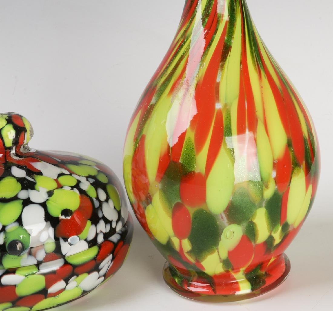 A COLLECTION OF CZECHOSLOVAKIAN ART GLASS - 3