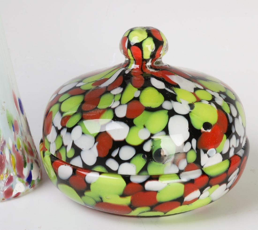A COLLECTION OF CZECHOSLOVAKIAN ART GLASS - 4