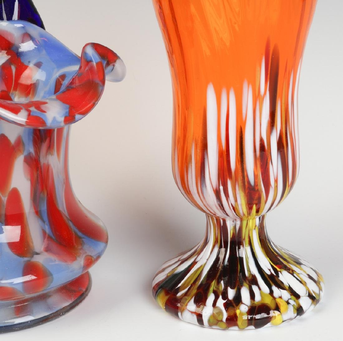 THREE UNUSUAL CZECHOSLOVAKIA ART GLASS OBJECTS - 7
