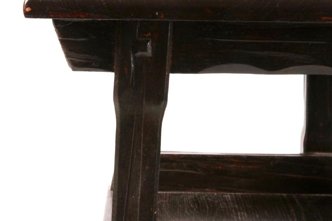 A PAIR OF A. BRANDT & CO RANCH OAK SIDE TABLES - 4