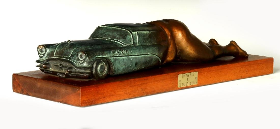 BERNARD CORMAN BRONZE TITLED 'BIG ASS BUICK' - 2