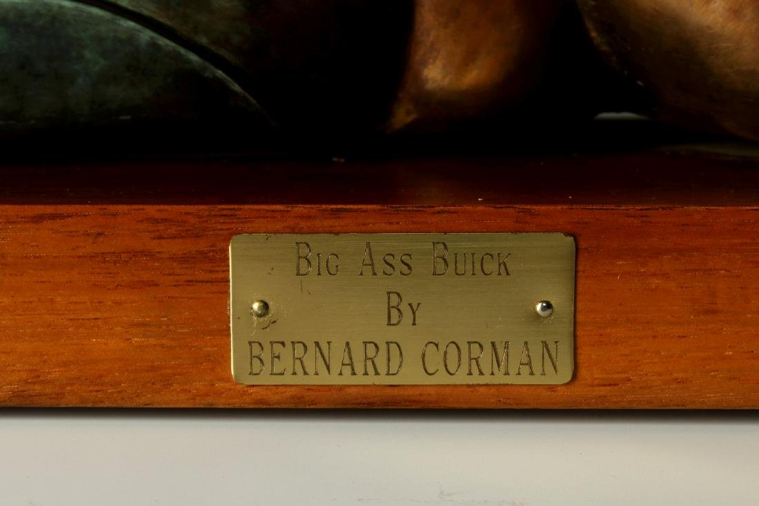 BERNARD CORMAN BRONZE TITLED 'BIG ASS BUICK' - 3