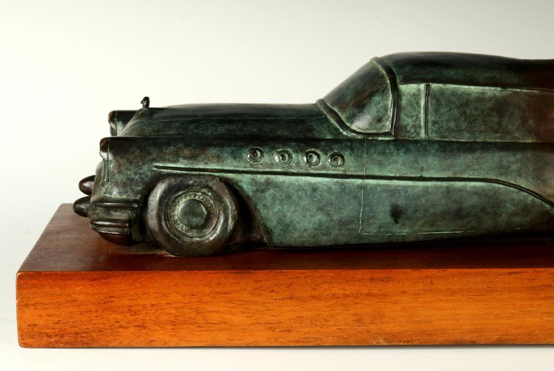 BERNARD CORMAN BRONZE TITLED 'BIG ASS BUICK' - 4
