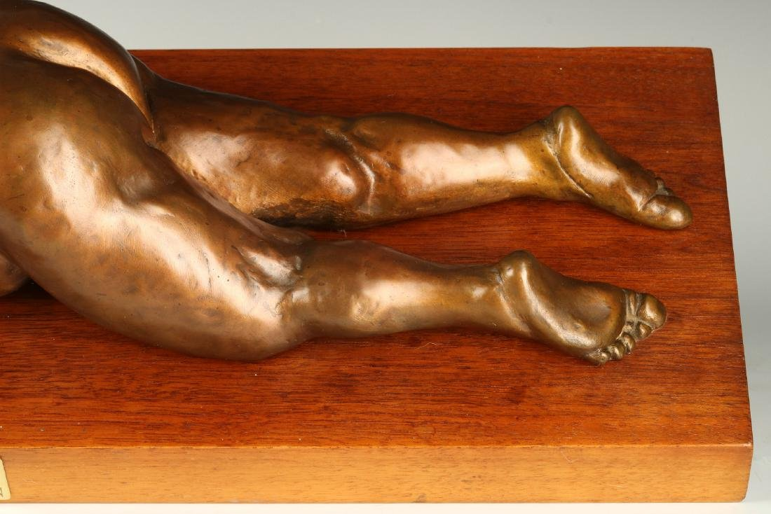 BERNARD CORMAN BRONZE TITLED 'BIG ASS BUICK' - 5