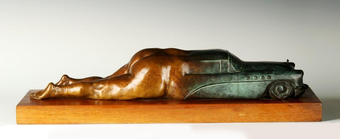 BERNARD CORMAN BRONZE TITLED 'BIG ASS BUICK' - 6