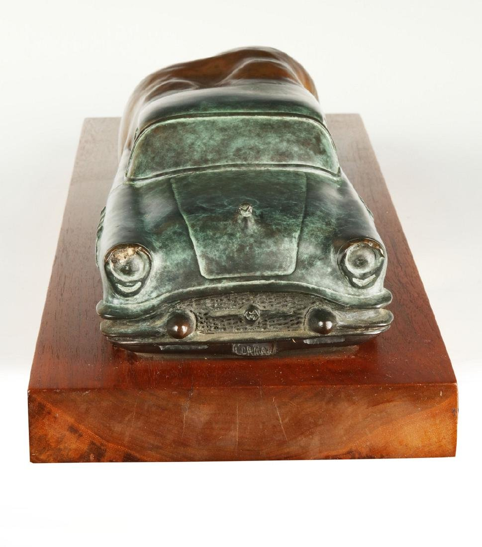BERNARD CORMAN BRONZE TITLED 'BIG ASS BUICK' - 8
