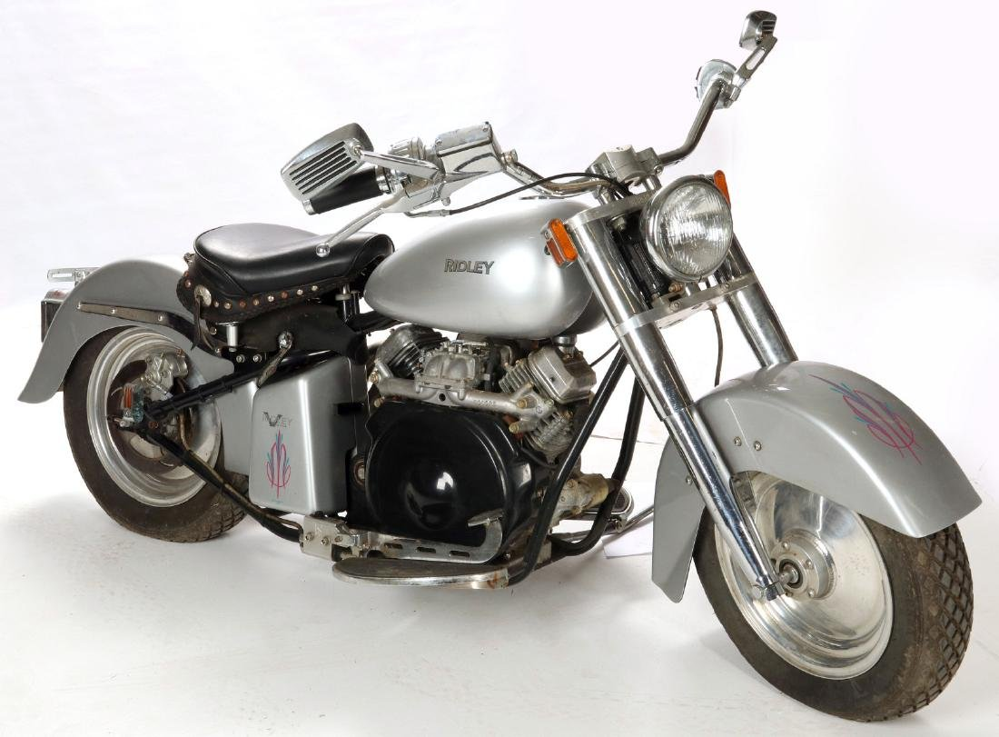 A 2001 RIDLEY SPEEDSTER 570 CC MOTORCYCLE
