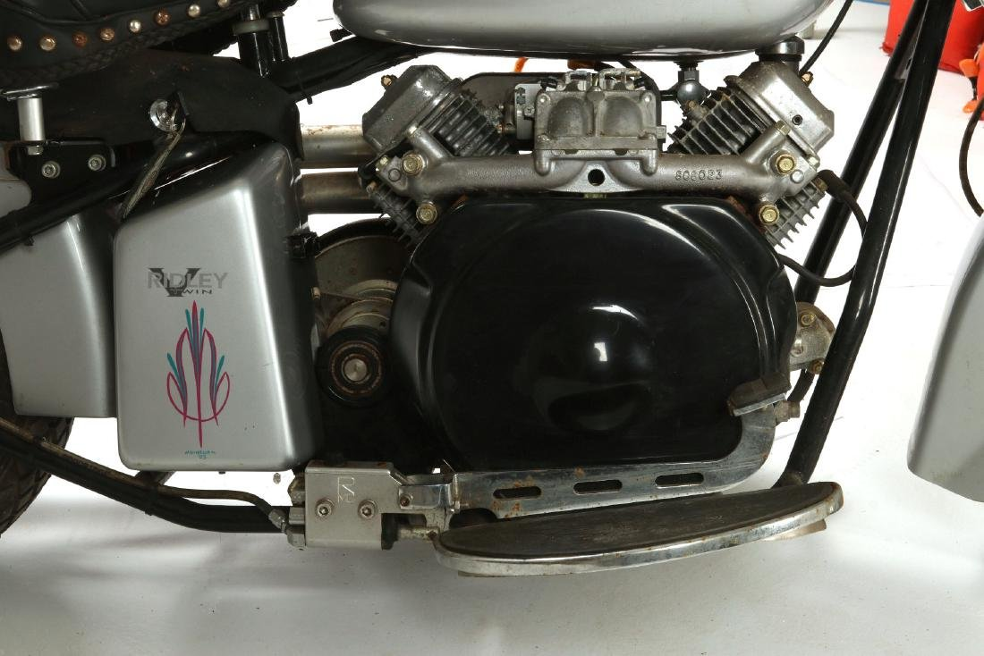 A 2001 RIDLEY SPEEDSTER 570 CC MOTORCYCLE - 5