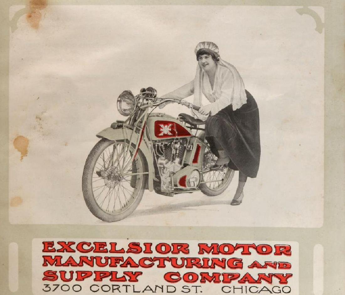 A CIRCA 1915 EXCELSIOR AUTO CYCLE TRADE CATALOG