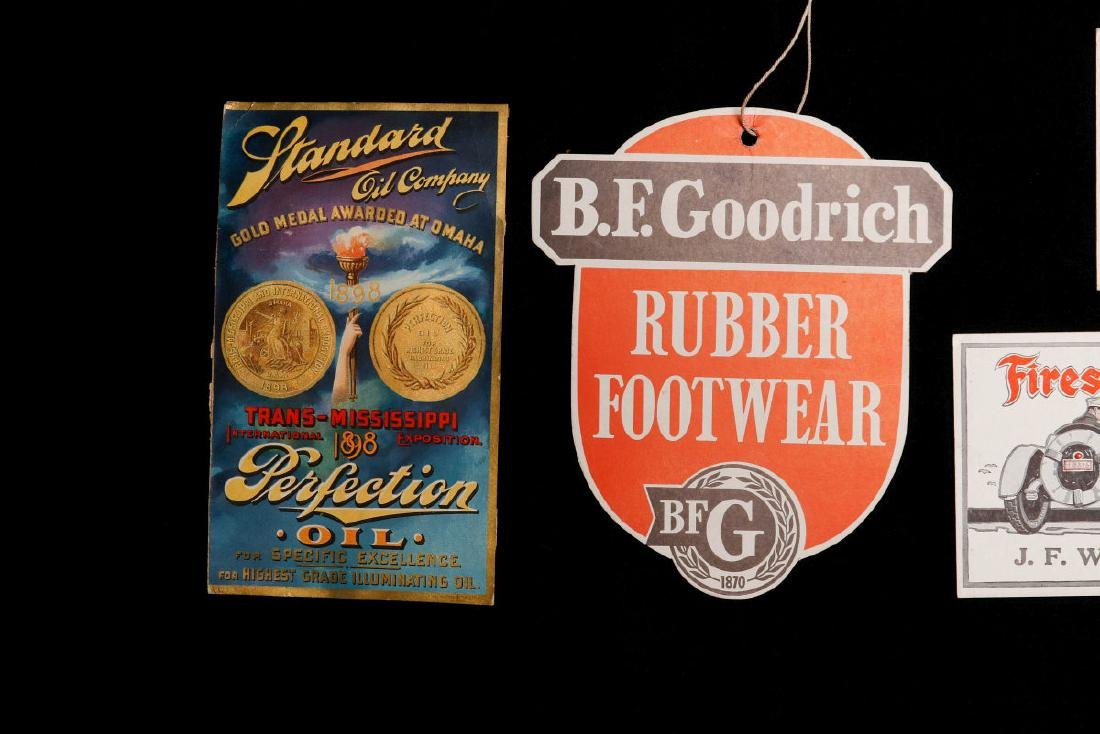 EARLY TO MID 20TH C AMERICAN AUTOMOBILIA EPHEMERA - 2