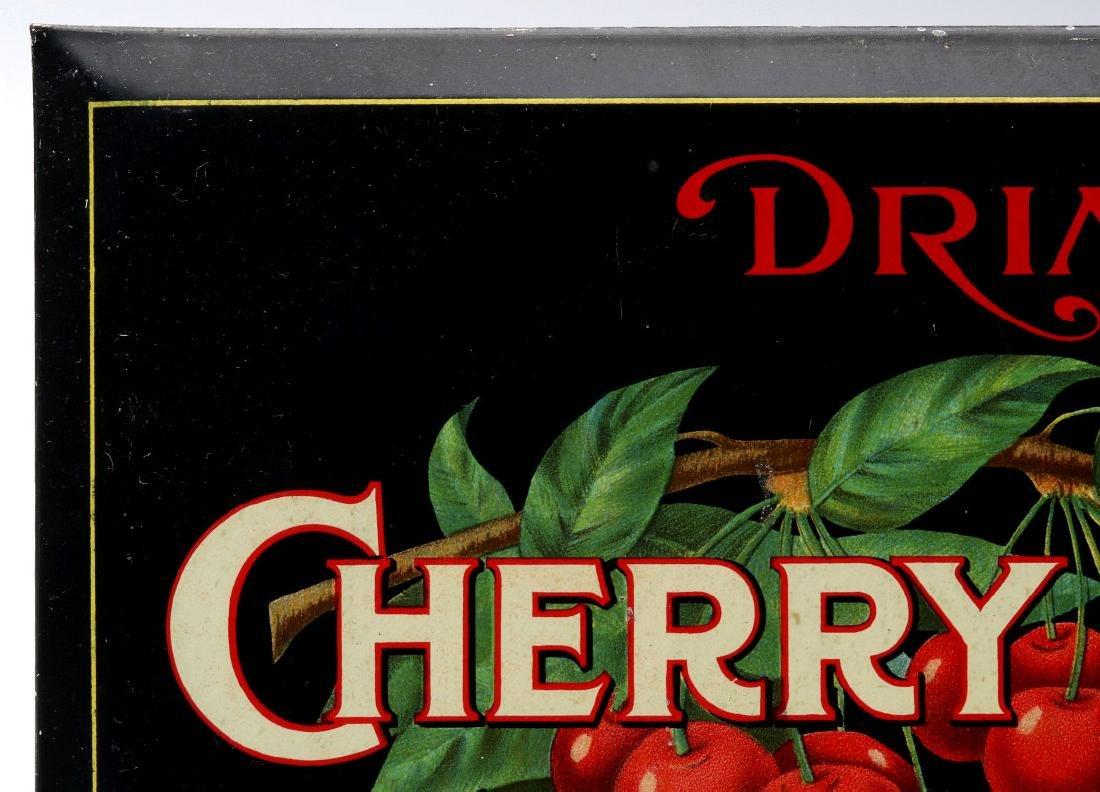 A BRIGHT COLORFUL CIRCA 1910S CHERRY BLUSH SIGN - 3