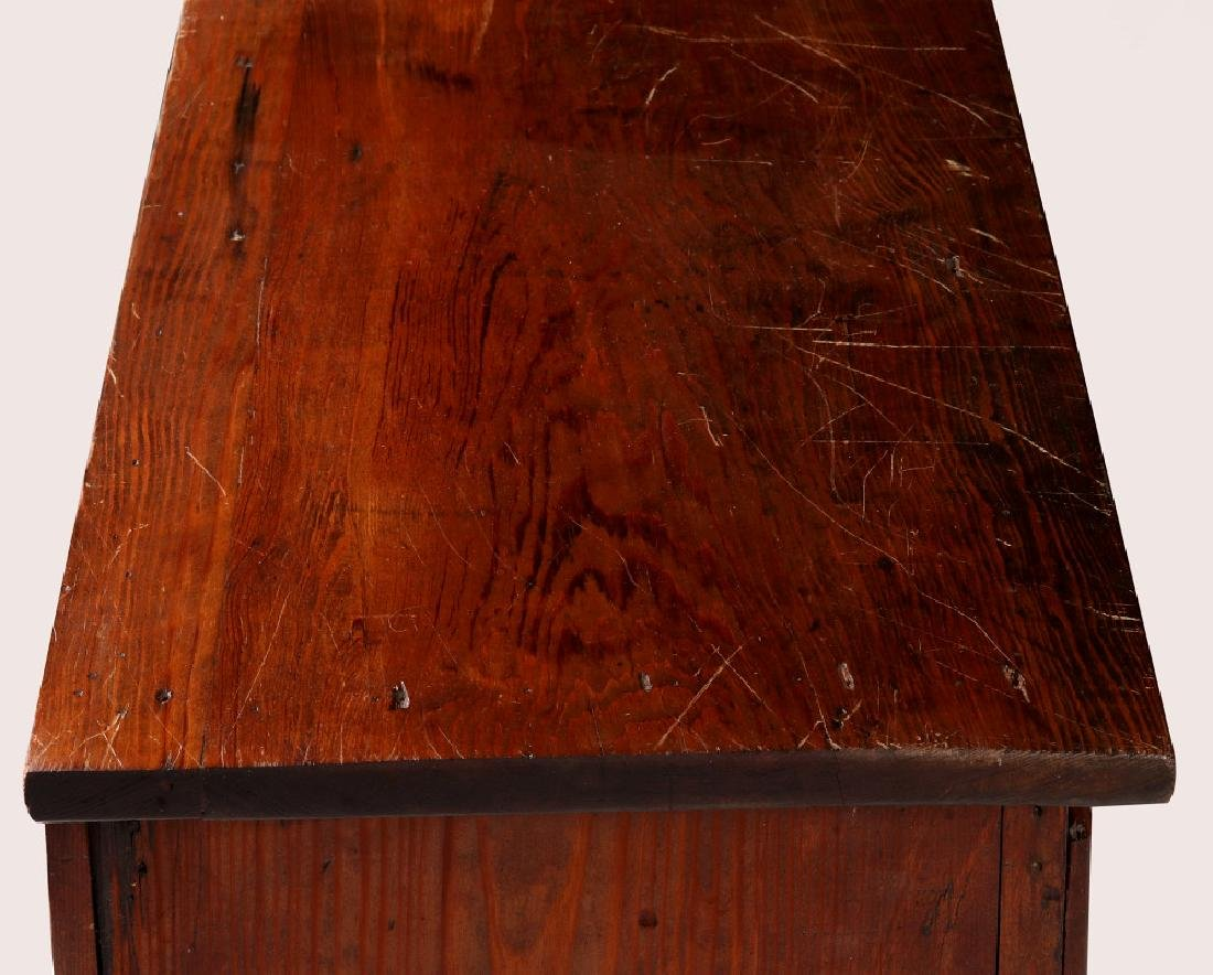 A MULTI-DRAWER YELLOW PINE STORE CABINET C. 1920 - 7