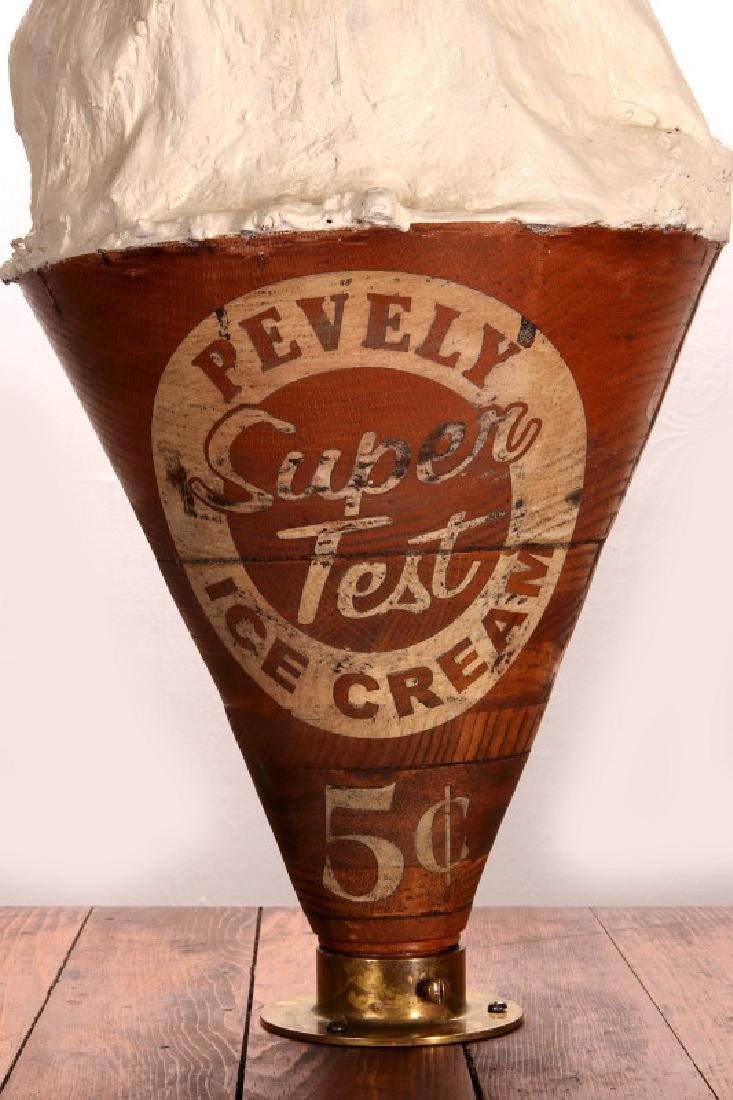 PEVELY ICE CREAM WORLD'S FAIR ICE CREAM FREEZER - 16