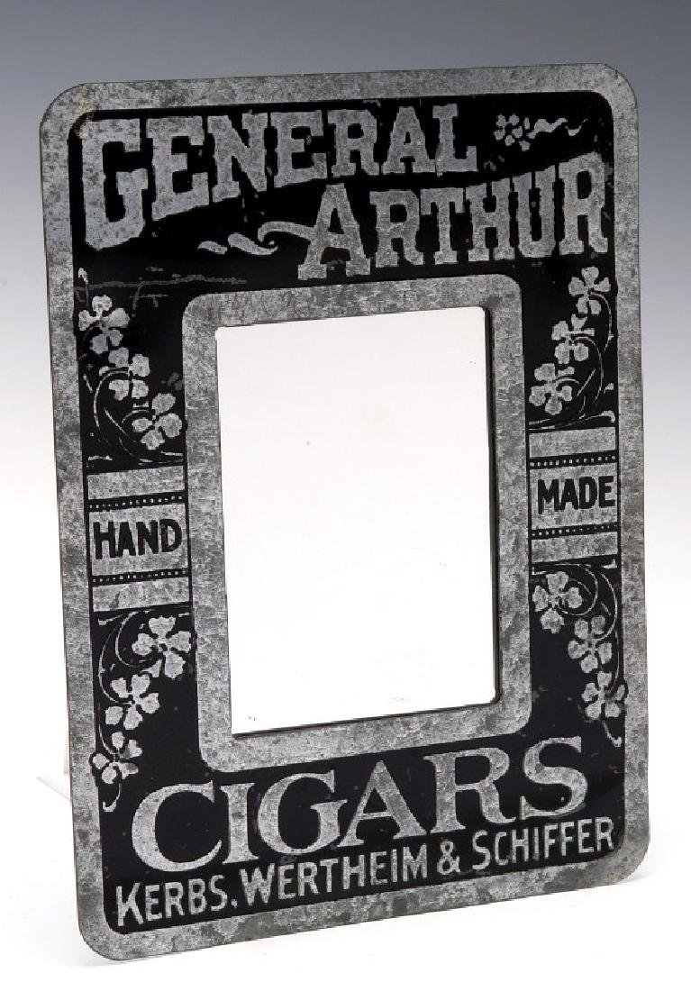 AN ADVERTISING MIRROR FOR GENERAL ARTHUR CIGARS