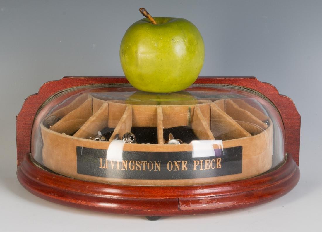 AN ART DECO CUFFLINK DISPLAY CASE FOR LIVINGSTON - 3