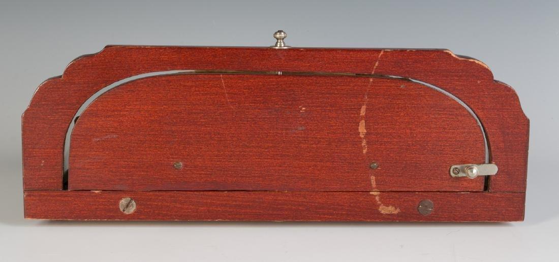 AN ART DECO CUFFLINK DISPLAY CASE FOR LIVINGSTON - 8