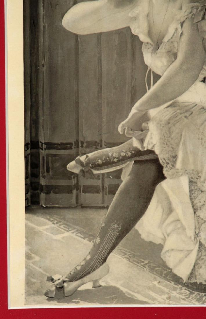 A 1904 PAPER POSTER FOR GORDON DYE HOSIERY - 6