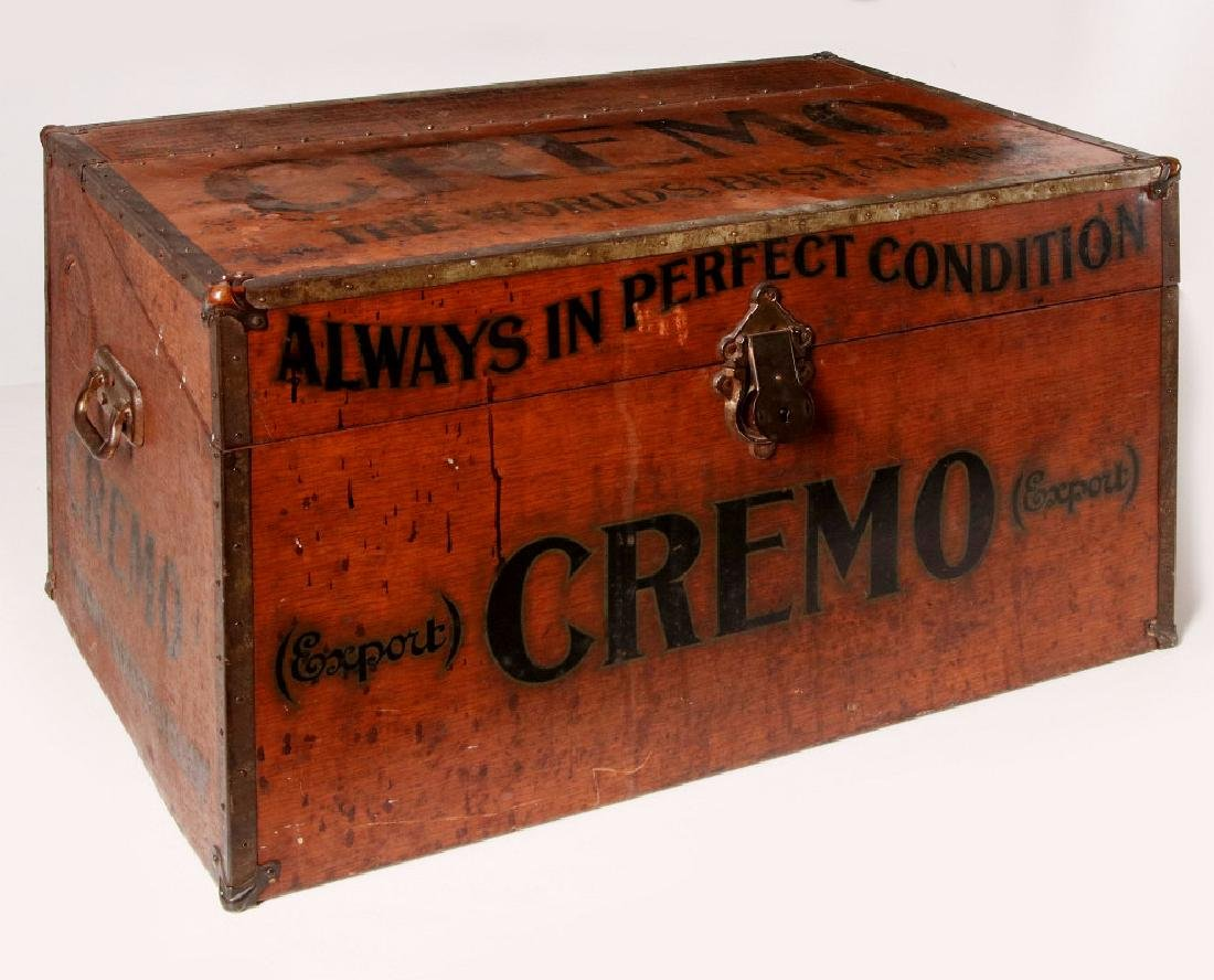 CREMO WORLD'S BEST CIGAR WOOD GRAINED HUMIDOR