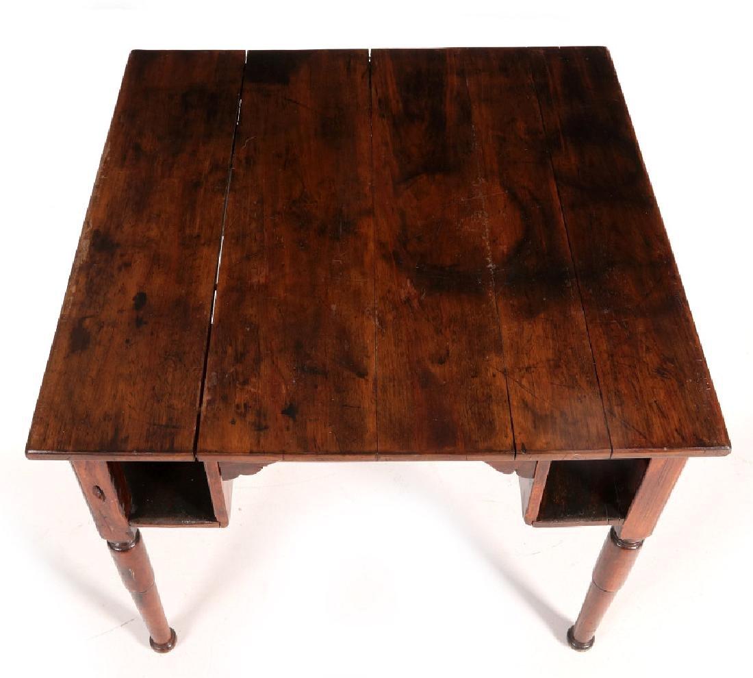AN ANTIQUE PUB TABLE - 2