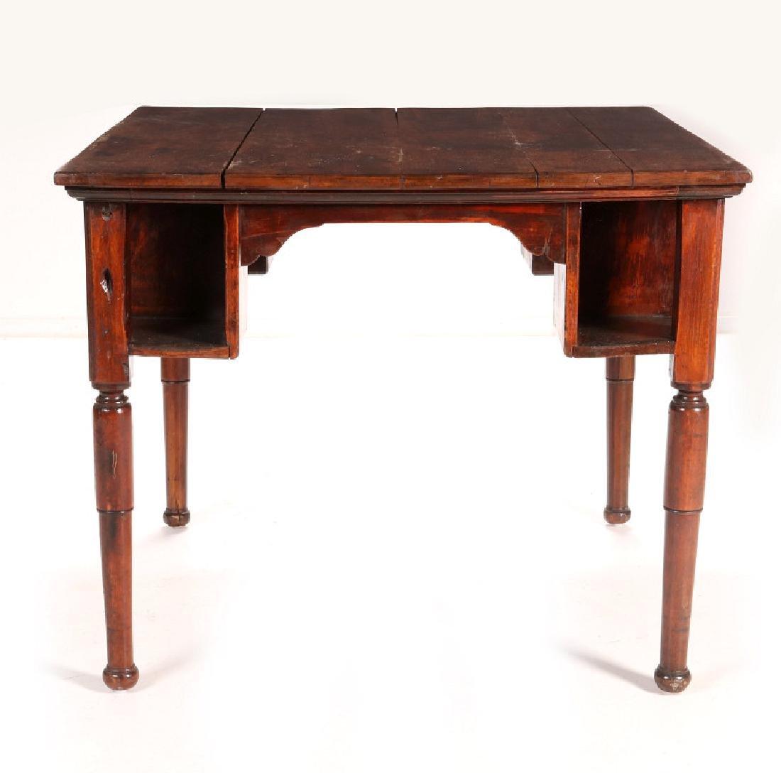 AN ANTIQUE PUB TABLE - 3