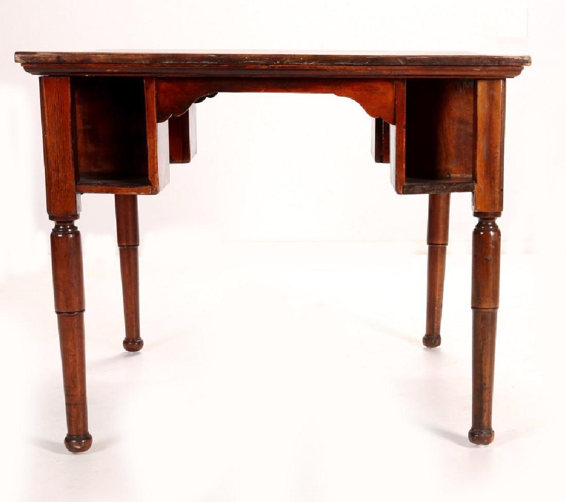 AN ANTIQUE PUB TABLE - 4