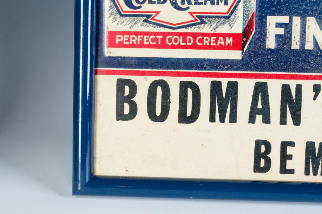 AN EARLY 20TH CENTURY COLD CREAM ADVERTISING SIGN - 7