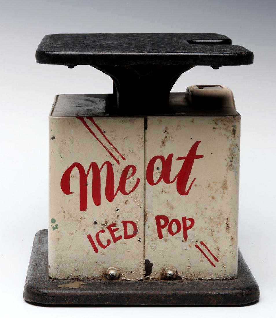 CIRCA 1940 MEAT SCALES - JOHNNY'S GROCERY, 9TH ST - 3