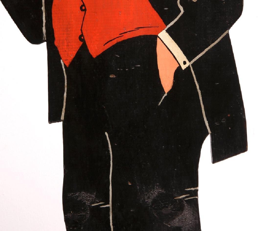 1930s PAINTED WOOD FIGURE OF COMIC CHARACTER JIGGS - 4
