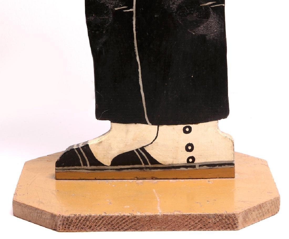 1930s PAINTED WOOD FIGURE OF COMIC CHARACTER JIGGS - 5