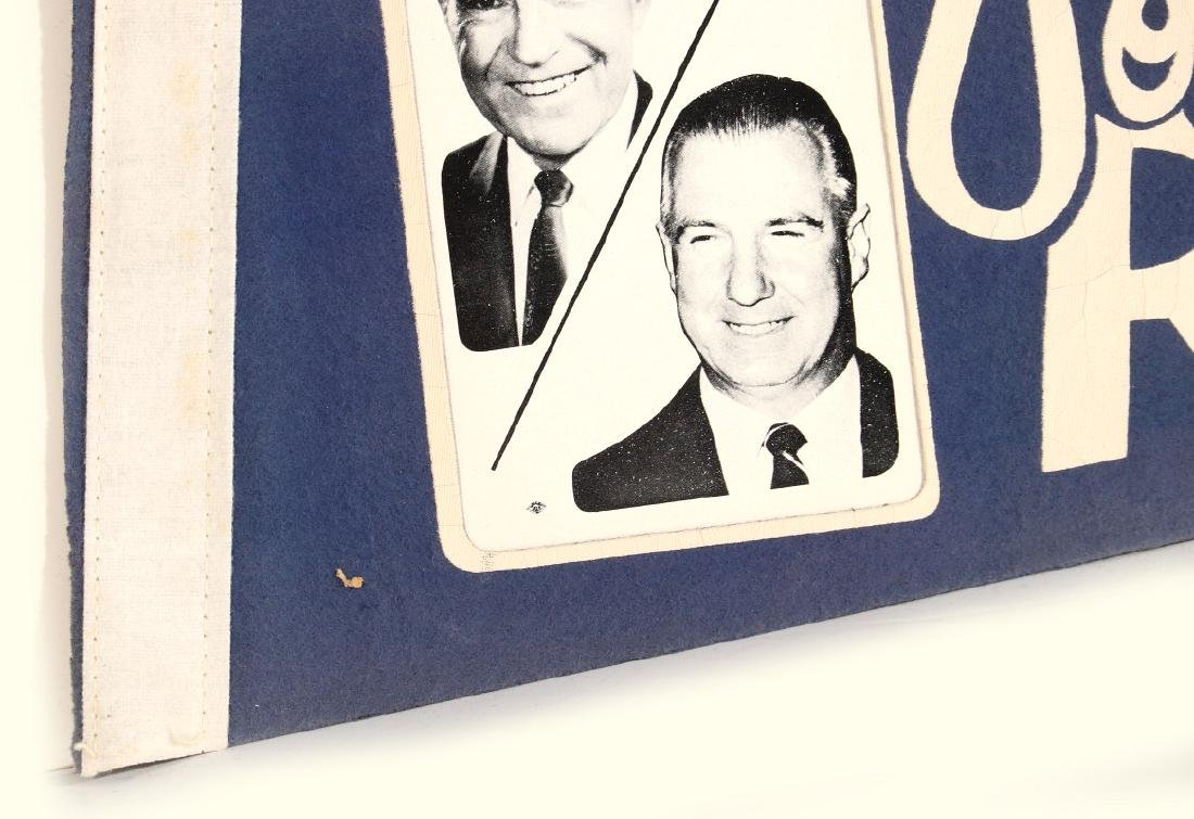 NIXON AGNEW AND HUMPHREY MUSKIE PHOTO PENNANTS - 3