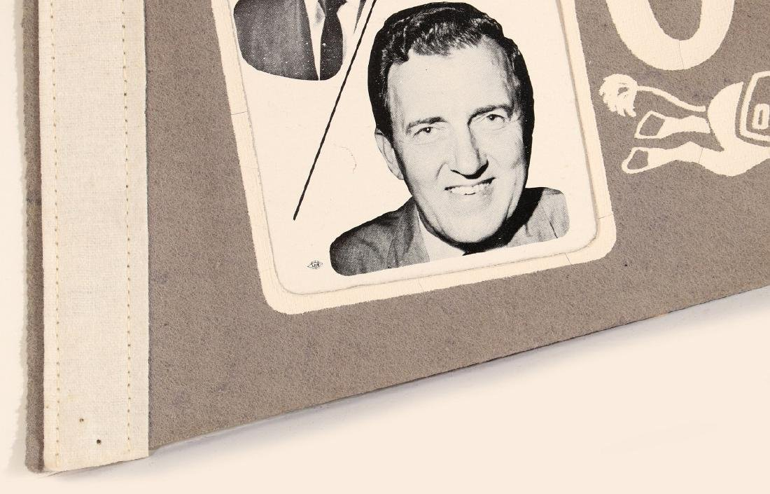 NIXON AGNEW AND HUMPHREY MUSKIE PHOTO PENNANTS - 9