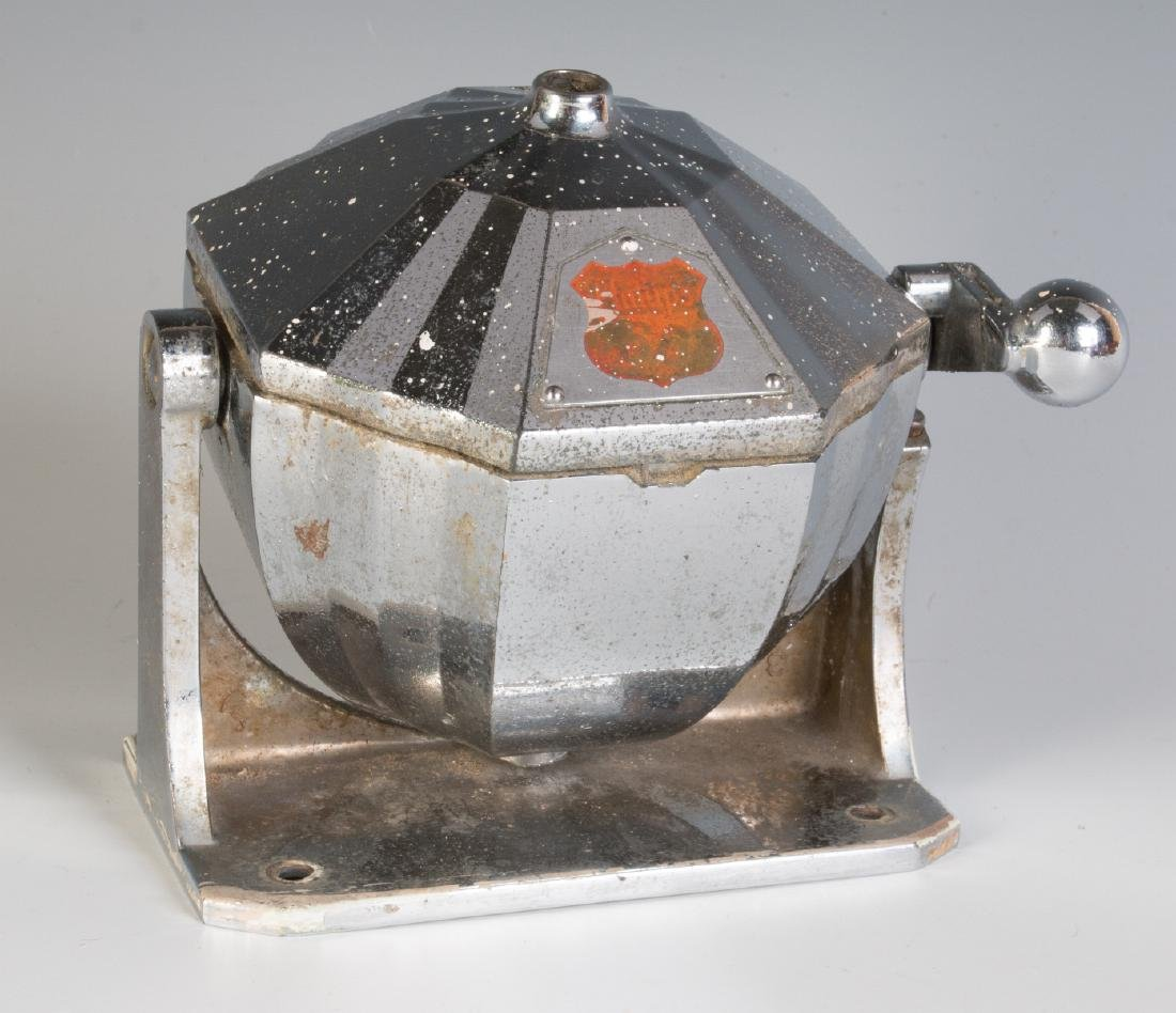 ART DECO CHROME DISPENSER WITH PHILLIPS 66 DECAL
