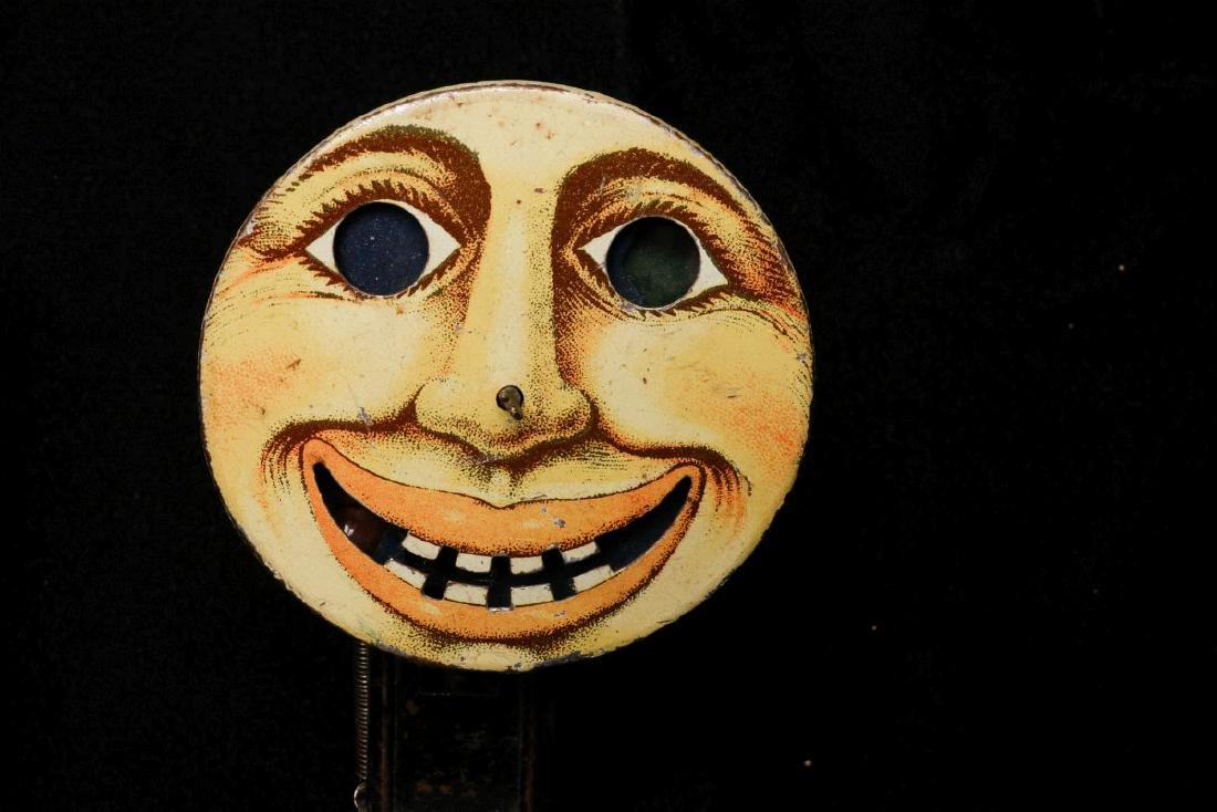 VINTAGE HALLOWEEN NOISEMAKERS AND POP-OUT GAG - 2