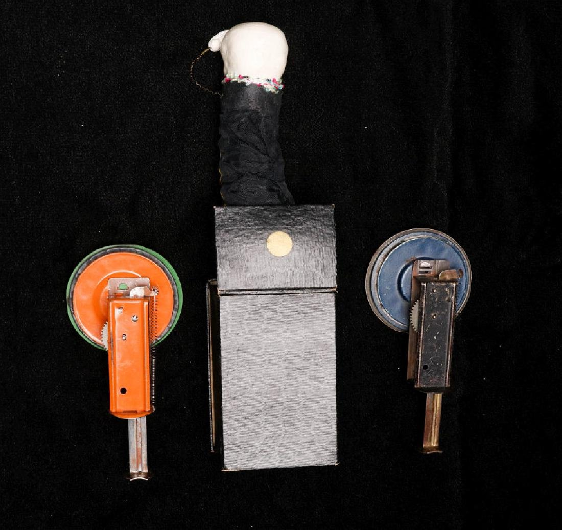VINTAGE HALLOWEEN NOISEMAKERS AND POP-OUT GAG - 5