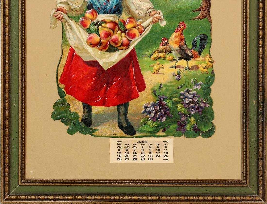 A 1912 CONCORDIA MISSOURI ADVERTISING CALENDAR - 7
