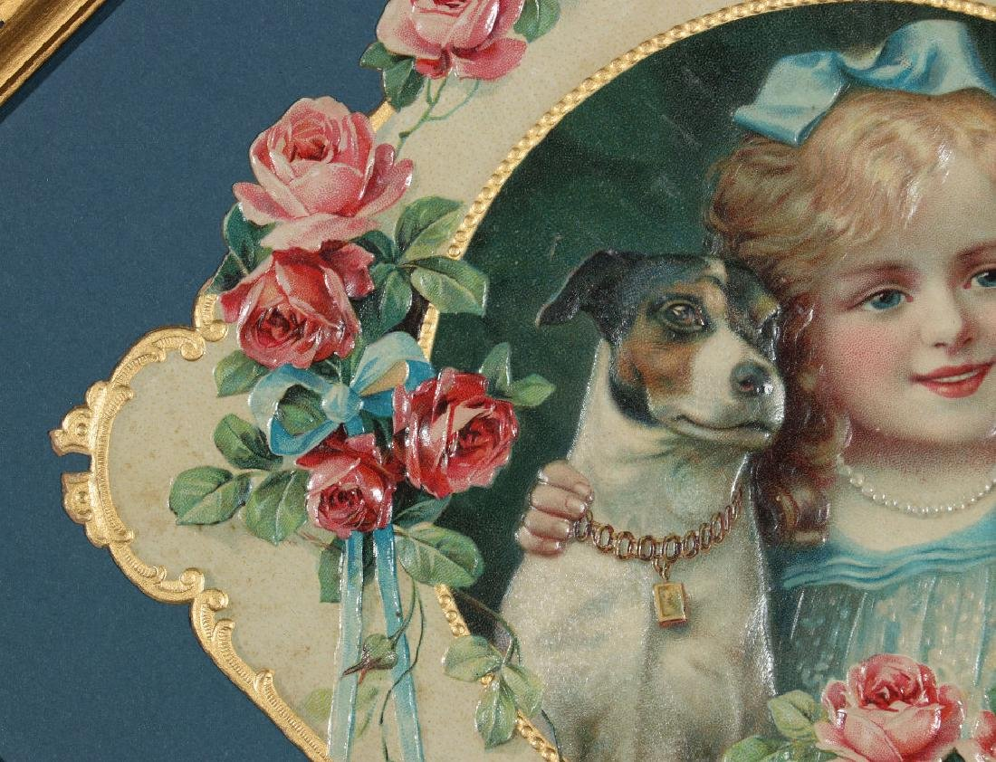 A VICTORIAN DIE-CUT COMPLIMENTS OF C. H. STORY, WI - 2