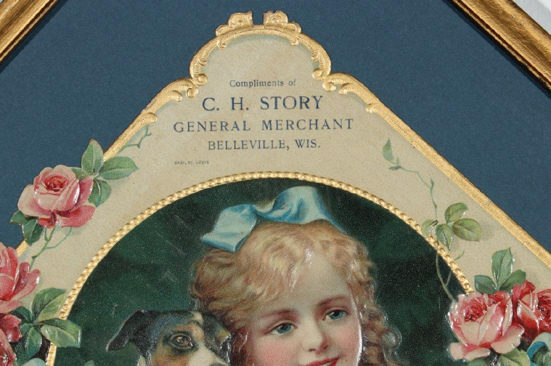 A VICTORIAN DIE-CUT COMPLIMENTS OF C. H. STORY, WI - 3
