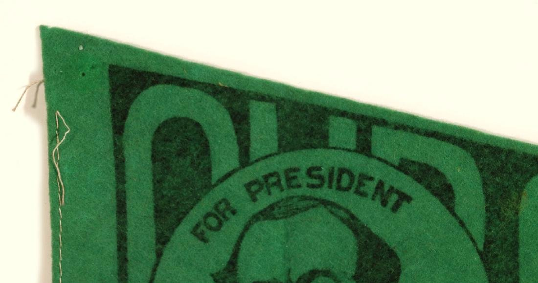 WILLIAM J. BRYAN 'OUR CHOICE' CAMPAIGN PENNANT - 2
