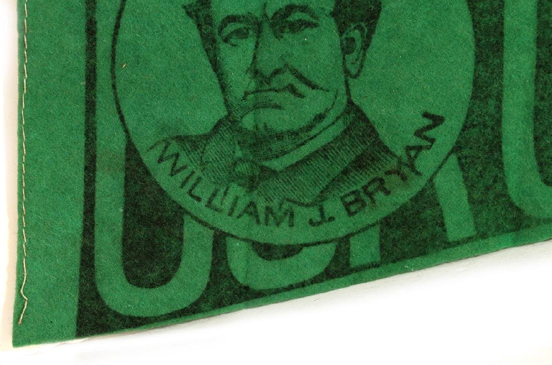 WILLIAM J. BRYAN 'OUR CHOICE' CAMPAIGN PENNANT - 3