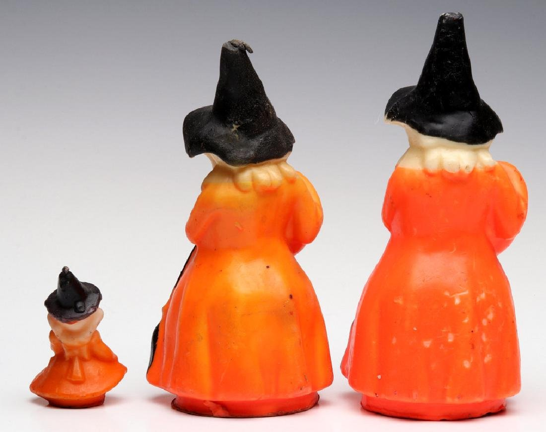 VINTAGE GURLEY NOVELTY CO. HALLOWEEN CANDLES - 4