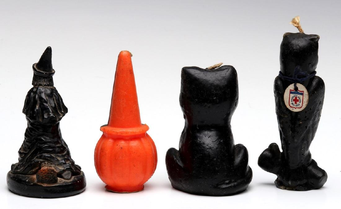 VINTAGE GURLEY NOVELTY CO. HALLOWEEN CANDLES - 7