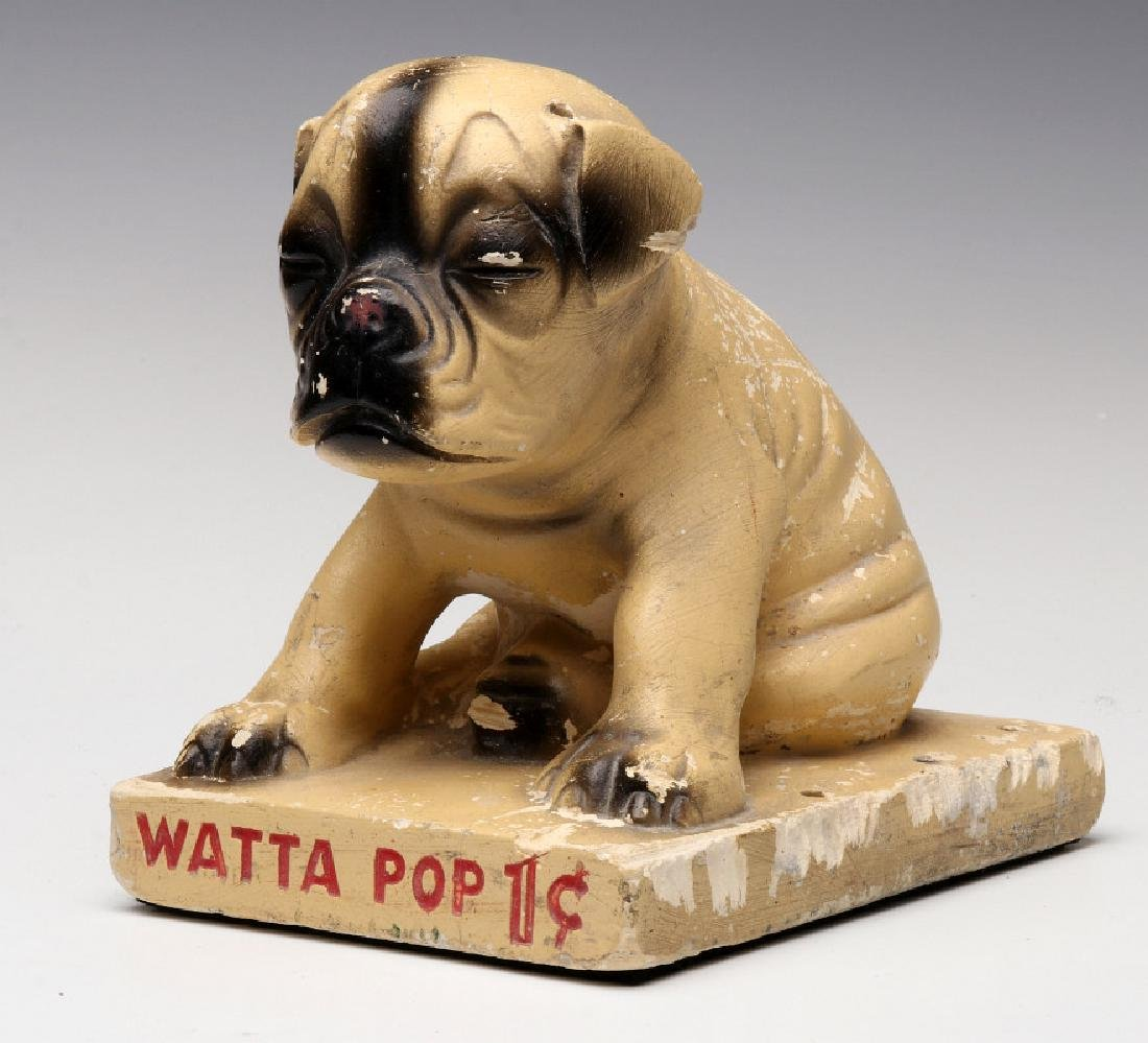 CHALK PUP ADVERTISING FIGURE FOR WATTA POPS CANDY - 13