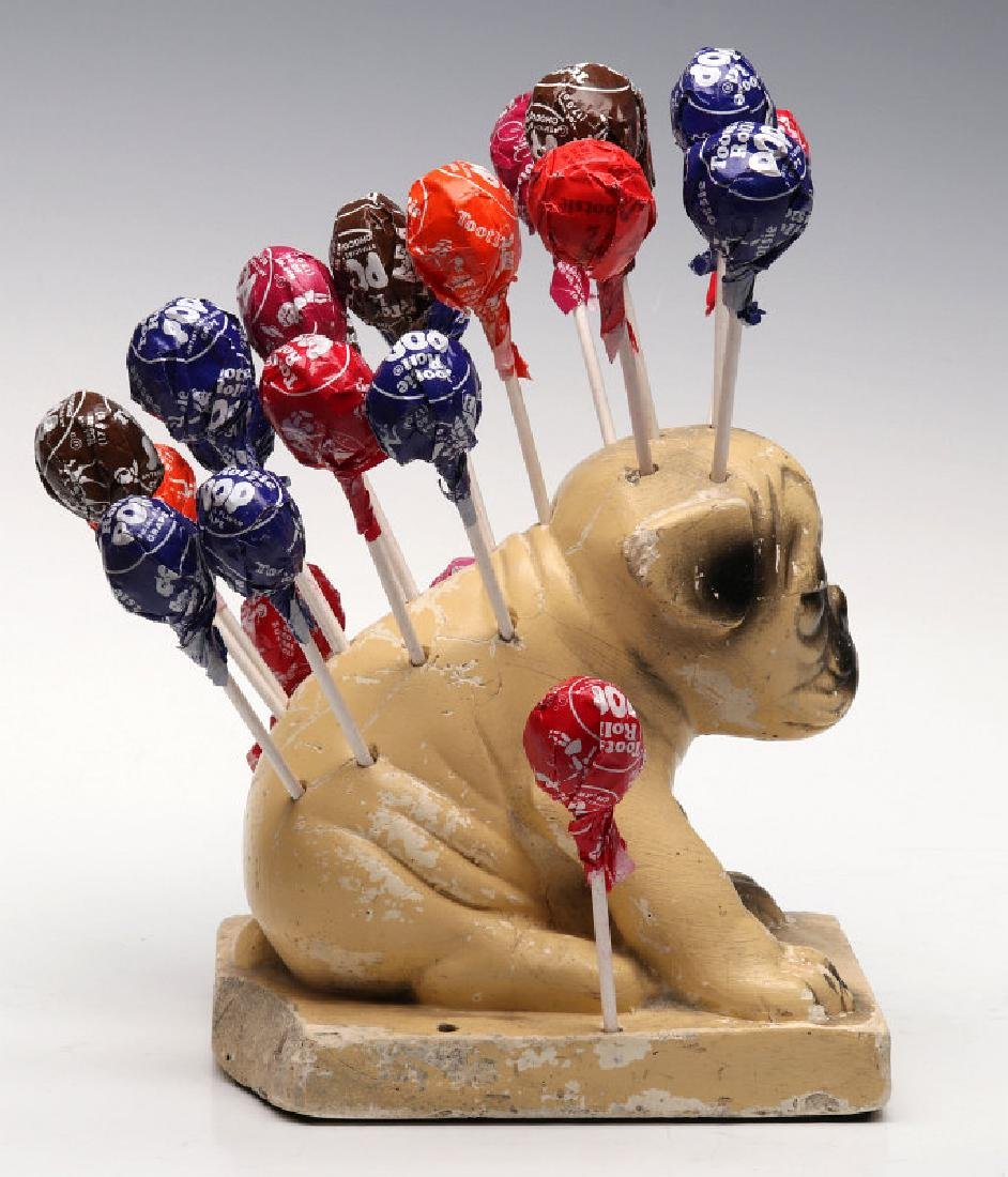 CHALK PUP ADVERTISING FIGURE FOR WATTA POPS CANDY - 14