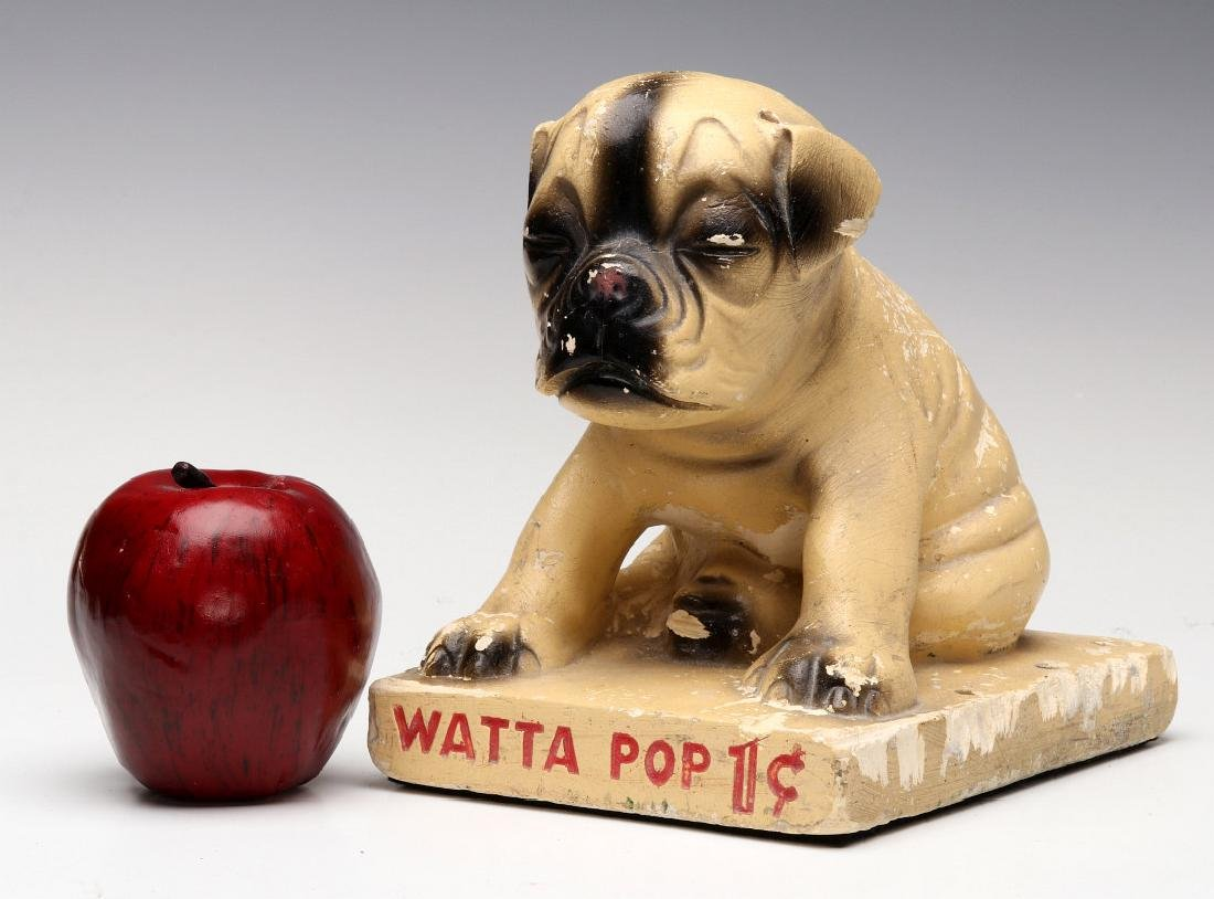CHALK PUP ADVERTISING FIGURE FOR WATTA POPS CANDY - 2