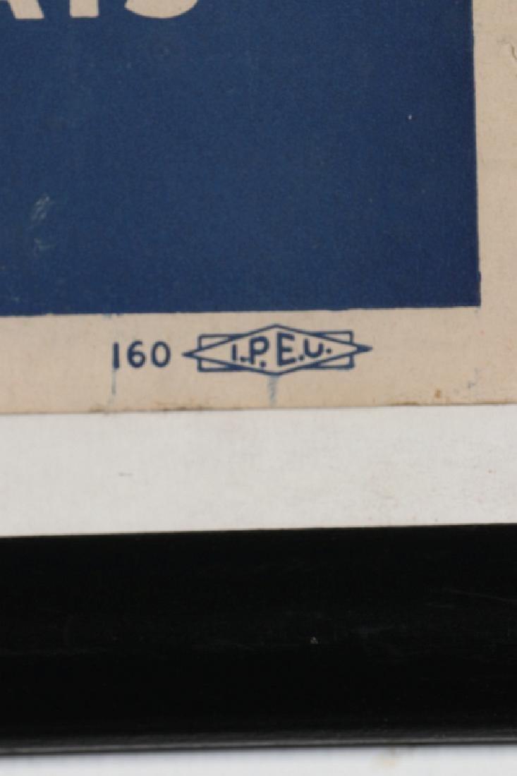 ORIGINAL 1948 DEMOCRATIC ELECTION POLITICAL POSTER - 9